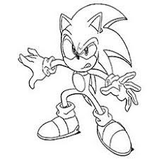 Print Coloring Image Sonic The HedgehogColouring PagesColoringFree PrintablePages