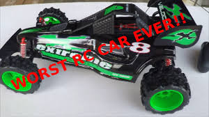 100 New Bright Rc Truck RC Car Buggy Review Worst Car Ever YouTube