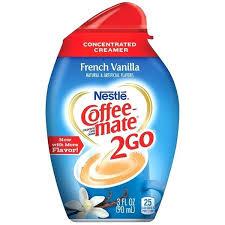Coffee Mate Vanilla French Liquid Creamer