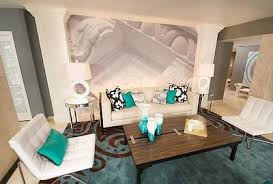 so love this gray white and turquoise living room with a tou