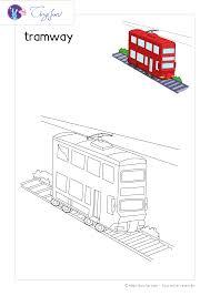 Coloriage Tramway Coloriage à Imprimer Ou à Faire En Ligne Sur