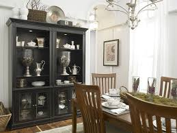 Black Hutch Is The Showstopper In This White Eclectic Kitchen