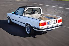 BMW Secretly Built An E30 Pickup Truck In 1986