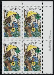 100 Louis Hebert Canada 1060 TR Plate Block MNH Apothecary