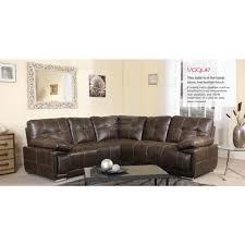 Vogue Leather Corner Sofa Furniture Mill Outlet