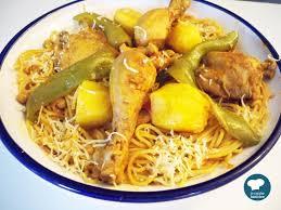 de cuisine tunisienne recette facile de spaghettis au poulet cuisine tunisienne