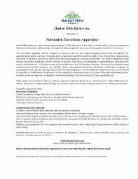 40 Apprentice Electrician Resume Sample   Stockportcountytrust