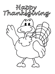 Thanksgiving Coloring Pages 4