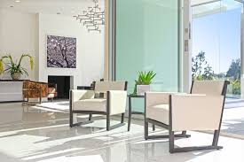 los angeles terrazzo tile living room midcentury with clear