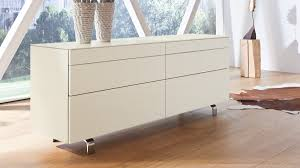 hülsta neo sideboard 980035 in der ausführung lack weiß matt h84 2 cm x b211 2 cm x t42 3 cm