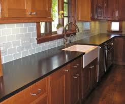 glass tile backsplash installation white subway kitchen lowes