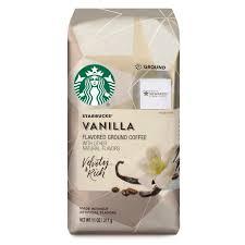 Starbucks Vanilla Flavored Ground Coffee 11 Ounce Bag