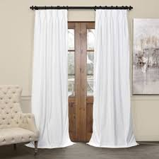 Blackout Curtains For Traverse Rods by Pinch Pleated Drapes For Traverse Rods Wayfair