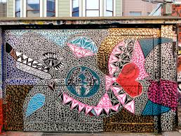 Clarion Alley Mural Project San Francisco by Whale Love Street Art Sf