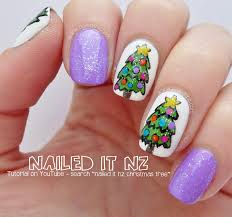 Realistic Artificial Christmas Trees Nz by Christmas Tree Nail Art Tutorial 12 Days Of Christmas Nail Art