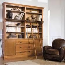 bibliothèque en manguier l 130 cm naturaliste maisons du monde