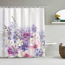 suhom duschvorhang lavendel pastell kornblumen braut