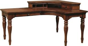 Ameriwood Desk And Hutch In Cherry by Desk Corner L Shaped Office Desk With Hutch Black And Cherry By
