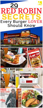 29 Red Robin Secrets Every Burger Lover Should Know - The ... Celebrate Sandwich Month With A 5 Crispy Chicken Meal 20 Off Robin Hood Beard Company Coupons Promo Discount Red Robin Anchorage Hours Fiber One Sale Coupon Code 2019 Zr1 Corvette For 10 Off 50 Egift Online Only 40 Slickdealsnet National Cheeseburger Day Get Free Burgers And Deals Sept 18 Sample Programs Fdango Rewards Come Browse The Best Gulf Shores Vacation Deals Harris Pizza Hut Coupon Brand Discount Mytaxi Promo Code Happy Birthday Free Treats On Your Special