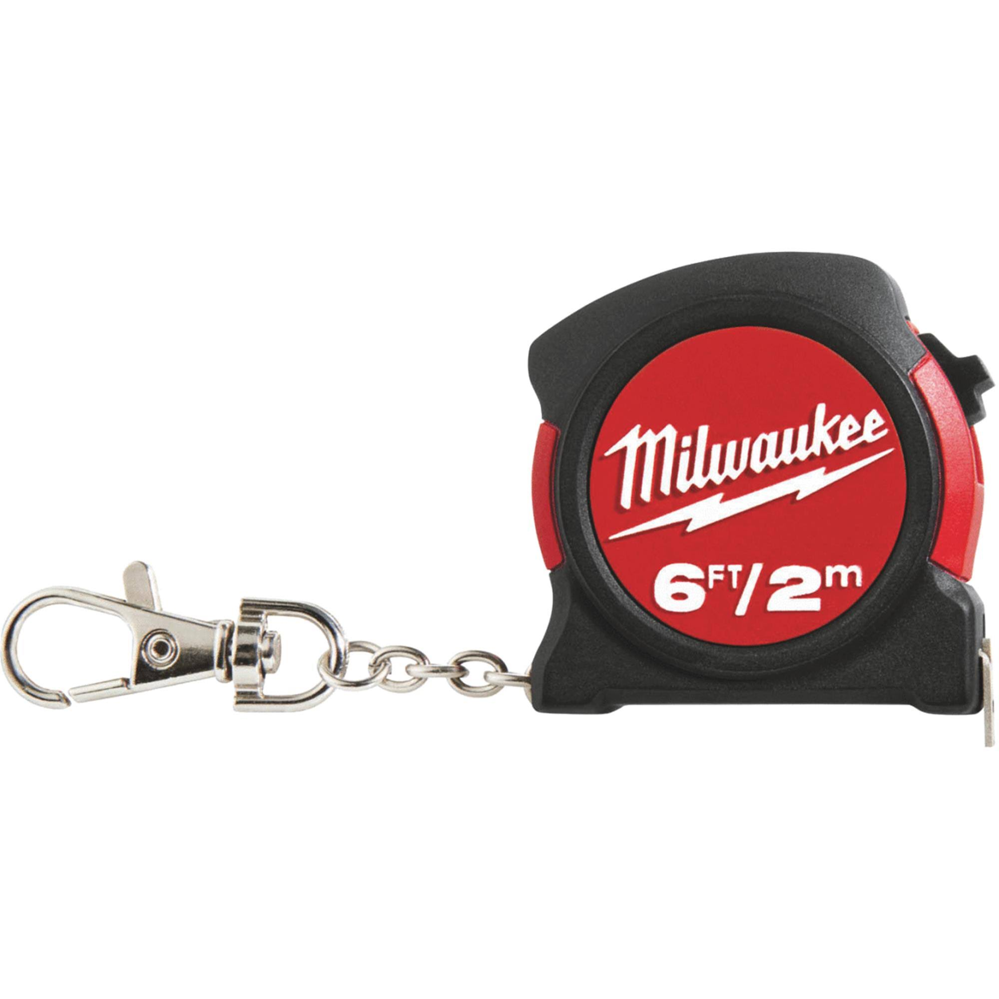 Milwaukee Keychain Tape Measure - 2m