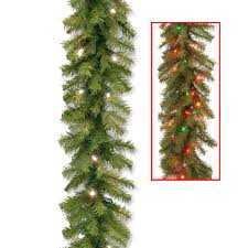 Pre Lit Led Christmas Trees Walmart by Decorating Garland Walmart Large Christmas Wreath Pre Lit Garland
