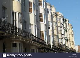 100 Brighton Townhouses Regency Style Townhouses In Stock Photo 27847732