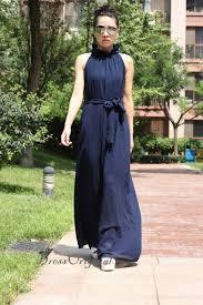 navy chiffon dress maxi dress long dress plus size dress