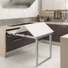 PARTY EXTENDABLE TABLE 600 900MM Pull Out Table Interior