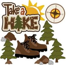 Hiking take a hike svg outdoor fun clipart scrapbooking