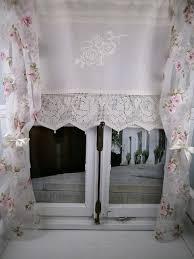 diese romantische gardine aus reinem zart gewebtem