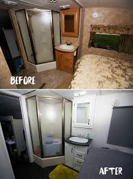 Travel Trailer Remodel Before And After