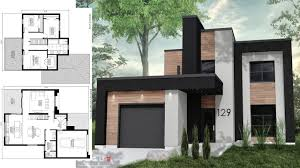 100 Modern House 3 Sketchup Design 40x49 With Bedrooms