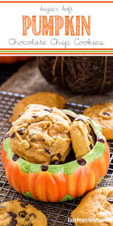 Libbys Pumpkin Orange Cookies by Super Soft Pumpkin Chocolate Chip Cookies Big Batch Eazy Peazy
