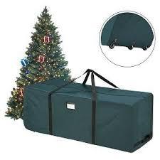 Upright Christmas Tree Storage Bag by Amazon Com Elf Stor Rolling Duffle Christmas Tree Storage Bag