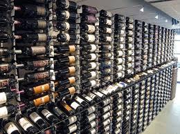 Wine Display in Metal Wine Racks
