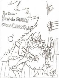 27 Grinch Coloring Pages Cartoons Printable
