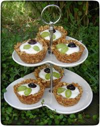 granola haferflocken törtchen mit obst ganz ohne mehl
