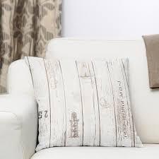 dekostoff ottoman holz beige weiss muster