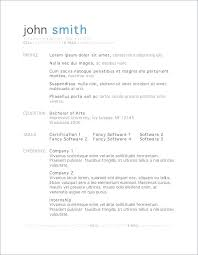 Sample Resume For Teachers Simple Format Of Teaching Template Word High School