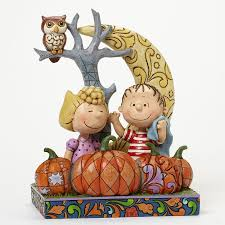 Linus Great Pumpkin Image by Enesco Jim Shore Peanuts Linus And Sally Pumpkin Patch Figurine