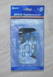 kopp dekorrahmen tapete tapetenschutz 2 x dekor transparent neu