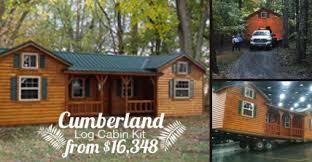 Cumberland Log Cabin Kit from $16 348