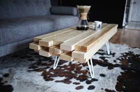 fabriquer canap soi meme une table basse à faire soi même digne d un designer