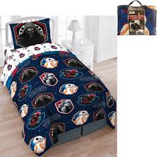 Minecraft Bedding Walmart by Star Wars Bed In A Bag 5 Piece Twin Bedding Set With Bonus Tote