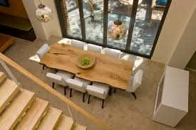 Brilliant Ideas Of Mesmerizing Dining Room Light With Wooden Log Table And For Your Cool