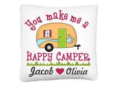 This Personalized Pillow Cover Would Make A Great Decor Addition For Your Camper Or