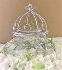 Diy Pumpkin Carriage Centerpiece by Cinderella Coach Centerpiece Fairytale Wedding