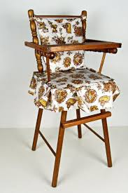 Vintage Wooden Doll High Chair - 1970s. $35.00, Via Etsy ...