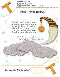 Peter Peter Pumpkin Eater Poem Printable by Alphabet Letter T Learning Alphabet Letters In Familiar Nursery