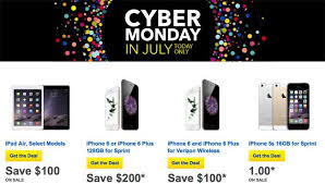 Buy Cyber Monday in July Sale offers $200 Savings on iPhone 6